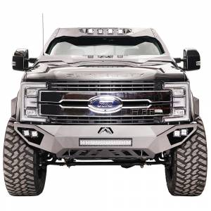 Fab Fours - Fab Fours FS17-V4161-1 Open Fender Front Bumper for Ford F250/F350 2017-2020 - Image 1