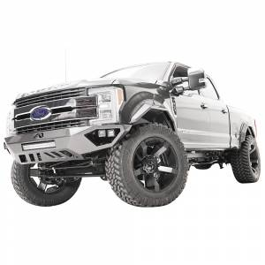Fab Fours - Fab Fours FS17-V4161-1 Open Fender Front Bumper for Ford F250/F350 2017-2020 - Image 3