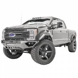 Fab Fours - Fab Fours FS17-V4161-1 Open Fender Front Bumper for Ford F250/F350 2017-2020 - Image 4