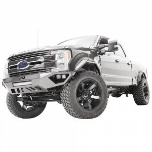 Fab Fours - Fab Fours FS17-V4162-1 Open Fender Front Bumper with Pre-Runner Guard for Ford F250/F350 2017-2020 - Image 3