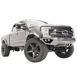 Fab Fours - Fab Fours FS17-V4162-1 Open Fender Front Bumper with Pre-Runner Guard for Ford F250/F350 2017-2020 - Image 4