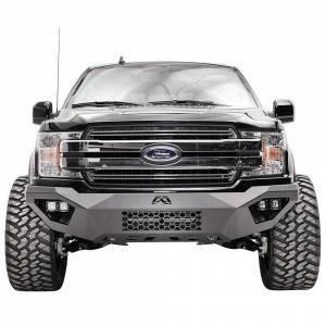 Fab Fours - Fab Fours FR19-D4851-1 Vengeance Front Bumper with Sensor Holes for Ford Ranger 2019 - Image 2