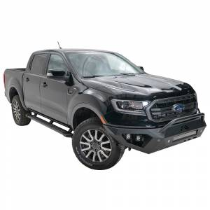 Fab Fours - Fab Fours FR19-D4852-1 Vengeance Front Bumper with Pre-Runner Guard and Sensor Holes for Ford Ranger 2019 - Image 2