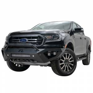 Fab Fours - Fab Fours FR19-D4852-1 Vengeance Front Bumper with Pre-Runner Guard and Sensor Holes for Ford Ranger 2019 - Image 3
