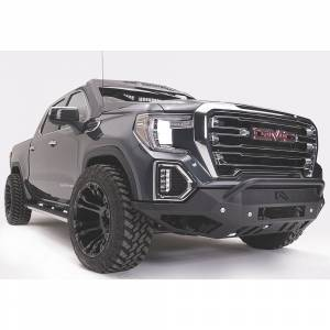Fab Fours - Fab Fours GS19-D6052-1 Vengeance Front Bumper with Pre-Runner Guard and Sensor Holes for GMC Sierra 1500 2019-2020 - Image 2