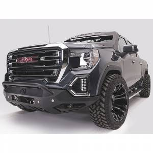 Fab Fours - Fab Fours GS19-D6052-1 Vengeance Front Bumper with Pre-Runner Guard and Sensor Holes for GMC Sierra 1500 2019-2020 - Image 3