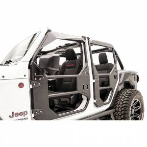 Fab Fours - Fab Fours JL1031-1 Rear Full Tube Door for Jeep Wrangler JL 2018-2020 - Image 2
