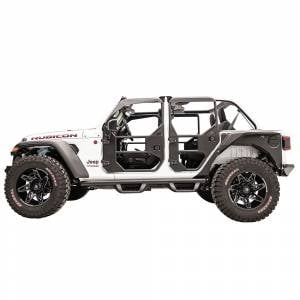 Fab Fours - Fab Fours JL1031-1 Rear Full Tube Door for Jeep Wrangler JL 2018-2020 - Image 4