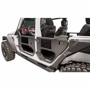 Fab Fours JL1032-1 Front Half Tube Door for Jeep Wrangler JL 2018-2020