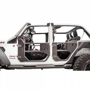 Fab Fours - Fab Fours JL1033-1 Rear Half Tube Door for Jeep Wrangler JL 2018-2020 - Image 2