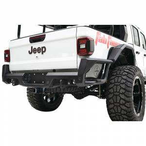Fab Fours - Fab Fours JT20-Y1950-1 Rear Bumper with Sensor Holes for Jeep Gladiator JT 2020 - Image 2