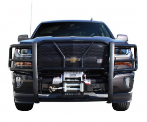Westin - Westin 57-93955 HDX Winch Mount Grille Guard Chevrolet Silverado 1500 2020 Only(2019 does not fit)