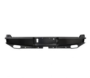 Westin - Westin 58-341185 HDX Bandit Rear Bumper Chevy Silverado and GMC Sierra 1500 2020 Only (Not 2019) and 2500HD/3500 2020