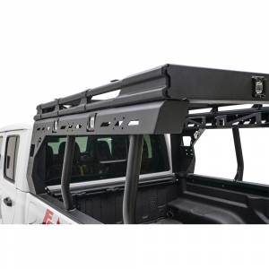B Exterior Accessories - Fab Fours - Fab Fours JTOR-01-1 Overland Rack for Jeep Gladiator JT 2020-2020