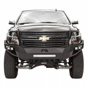 Shop Bumpers By Vehicle - Chevy Tahoe and Suburban - Fab Fours - Fab Fours CS15-D3551-1 Vengeance Front Bumper with Sensor Holes for Chevy Suburban 2015-2019