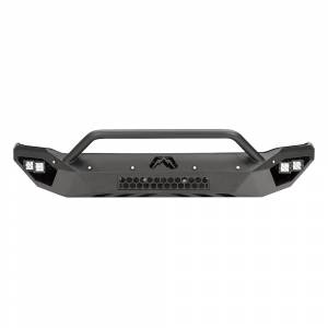 Shop Bumpers By Vehicle - Chevy Tahoe and Suburban - Fab Fours - Fab Fours CS15-D3552-1 Vengeance Front Bumper with Pre-Runner Guard and Sensor Holes for Chevy Suburban 2015-2019