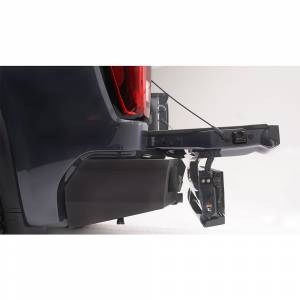 Fab Fours - Fab Fours CS19-E4051-1 Vengeance Rear Bumper with Sensor Holes for Chevy Silverado 1500 2019 - Image 2