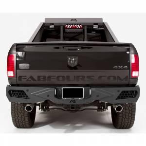 Fab Fours - Fab Fours DR09-E2951-1 Vengeance Rear Bumper with Sensor Holes for Dodge Ram 2500/3500 2010-2018 - Image 2
