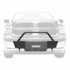 Fab Fours - Fab Fours DR10-N2450-1 Winch Mount with Small Frame for Dodge Ram 2500/3500/4500/5500 2003-2018