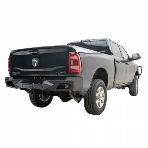 Fab Fours - Fab Fours DR19-E4451-1 Vengeance Rear Bumper with Sensor Holes for Dodge Ram 2500/3500 2019-2020 - Image 2