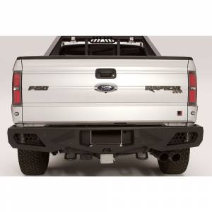 Fab Fours - Fab Fours FF09-E1751-1 Vengeance Rear Bumper with Sensor Holes for Ford Raptor 2010-2014