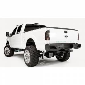 Fab Fours - Fab Fours FS08-E1351-1 Vengeance Rear Bumper with Sensor Holes for Ford Super Duty 2011-2016 - Image 2