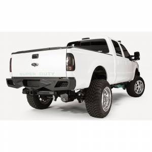 Fab Fours - Fab Fours FS08-E1351-1 Vengeance Rear Bumper with Sensor Holes for Ford Super Duty 2011-2016 - Image 3