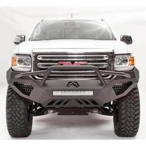 Shop Bumpers By Vehicle - GMC Canyon - Fab Fours - Fab Fours GC15-D3452-1 Vengeance Front Bumper with Pre-Runner Guard for GMC Canyon 2015-2019