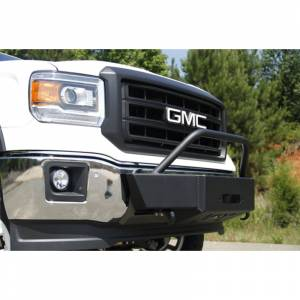 Fab Fours - Fab Fours GM05-N1350-1 Winch Mount with Large Frame for Chevy Silverado/GMC Sierra 2500/3500 2003-2006 - Image 6