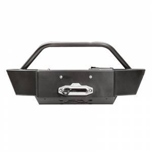 Exterior Accessories - Winch Mount | Hidden Winch Bumpers - Fab Fours - Fab Fours GM11-N2760-1 Winch Mount with Large Frame for GMC Sierra 2500/3500 2011-2014