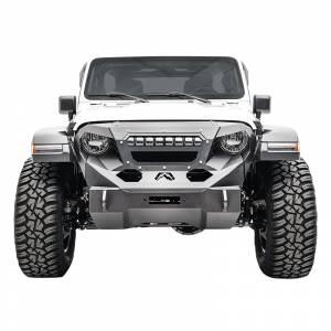 Fab Fours GR4606-1 Grumper Light Bar Mount for Jeep Wrangler JL 2018-2020