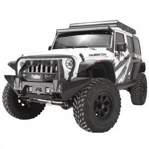 Fab Fours - Fab Fours JK07-B1859-1 FMJ Winch Modifier for Jeep Wrangler JK 2007-2018