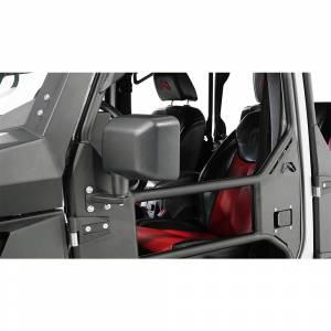 Fab Fours - Fab Fours JK1032-1 Tube Door Mirror Bracket for Jeep Wrangler JK 2007-2018 - Image 1
