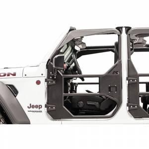 Fab Fours - Fab Fours JK1032-1 Tube Door Mirror Bracket for Jeep Wrangler JK 2007-2018 - Image 2