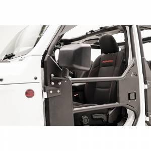 Fab Fours - Fab Fours JK1032-1 Tube Door Mirror Bracket for Jeep Wrangler JK 2007-2018 - Image 3