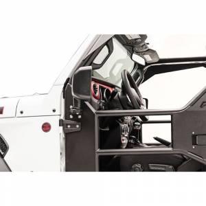 Fab Fours - Fab Fours JK1032-1 Tube Door Mirror Bracket for Jeep Wrangler JK 2007-2018 - Image 4