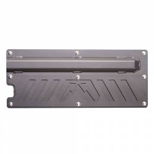 Fab Fours - Fab Fours JK2000-1 Rear Door Plate for Jeep Wrangler JK 2007-2018 - Image 1