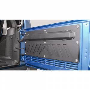 Fab Fours - Fab Fours JK2000-1 Rear Door Plate for Jeep Wrangler JK 2007-2018 - Image 3