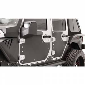 Fab Fours - Fab Fours JK3002-1 Rear Door Skin for Jeep Wrangler JK 2007-2018 - Image 3