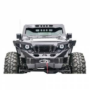 Shop Bumpers By Vehicle - Jeep Gladiator JT - Fab Fours - Fab Fours JL3020-1 ViCowl for Jeep Wrangler JL/Gladiator 2018-2020