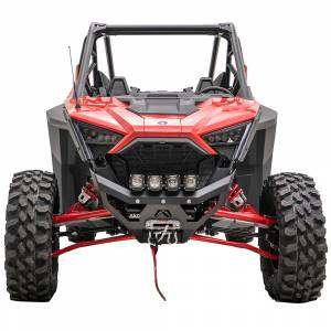 UTV Bumpers - Shop UTV Bumpers - Fab Fours - Fab Fours SXFB-1450-1 Winch Ready Front Bumper for Polaris RZR XP Pro 2020