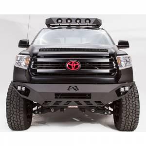 Toyota Tundra - Toyota Tundra 2014-2020 - Fab Fours - Fab Fours TT14-D2851-1 Vengeance Front Bumper for Toyota Tundra 2014-2019