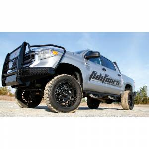 Fab Fours - Fab Fours TT14-K2860-1 Black Steel Front Bumper with Full Grille Guard for Toyota Tundra 2014-2019 - Image 3