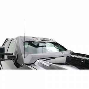 Exterior Accessories - ViCowl Windshield Armor - Fab Fours - Fab Fours VC3050-1 ViCowl without Ram Air Hood for Chevy Silverado 2500/3500 2015-2019