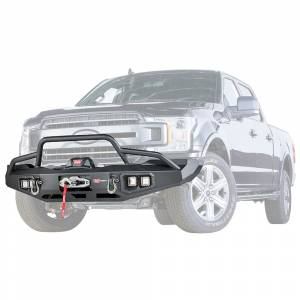 Warn - Warn 100916 Ascent Front Bumper for Ford F150 2018-2019
