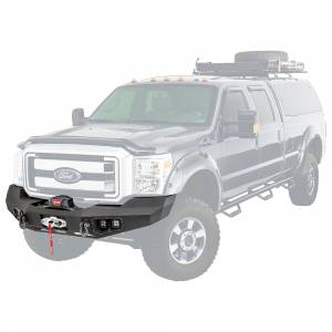 Truck Bumpers - Warn Ascent - Warn - Warn 100917 Ascent Front Bumper for Ford F250/F350 2011-2016
