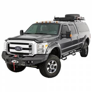 Warn - Warn 100917 Ascent Front Bumper for Ford F250/F350 2011-2016 - Image 2