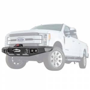 Warn - Warn 100918 Ascent Front Bumper for Ford F250/F350/F450 2017-2021