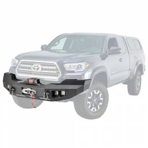 Truck Bumpers - Steelcraft - Warn - Warn 100927 Ascent Front Bumper for Toyota Tacoma 2016-2018