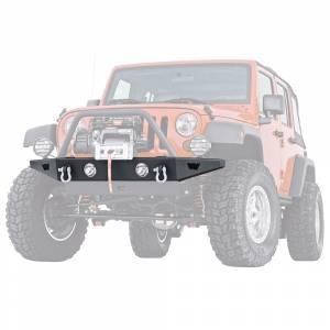 Jeep Bumpers - Warn - Warn - Warn 89430 Rock Crawler Front Bumper for Jeep Wrangler JK 2007-2018